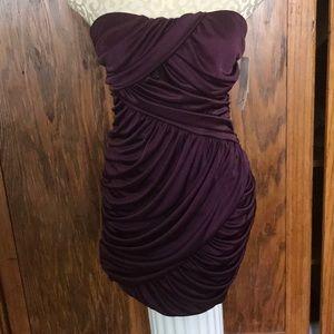 Speechless size medium party dress wine color